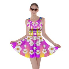 Over and under the rainbow is love Skater Dress