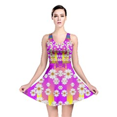 Over and under the rainbow is love Reversible Skater Dress