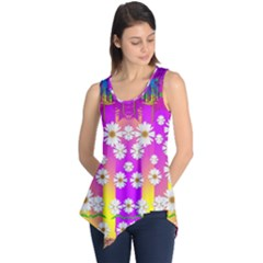 Over and under the rainbow is love Sleeveless Tunic