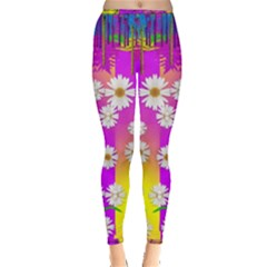 Over and under the rainbow is love Leggings