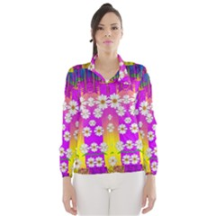 Over And Under The Rainbow Is Love Wind Breaker (women)