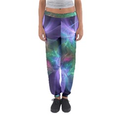 Ethereal Flowers Women s Jogger Sweatpants