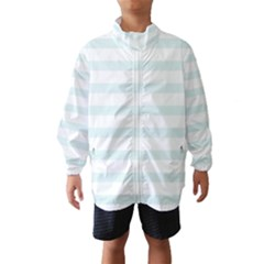 Baby Blue and White Stripes Wind Breaker (Kids)