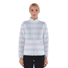Baby Blue and White Stripes Winterwear