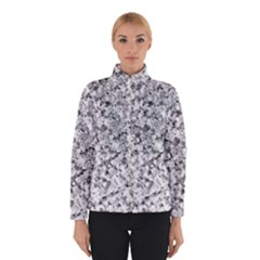 Silver Abstract Design Winterwear