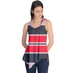 Rectangles In Retro Colors  Sleeveless Tunic