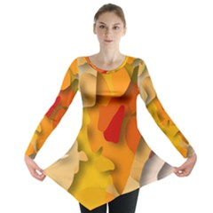 Red Spot Long Sleeve Tunic