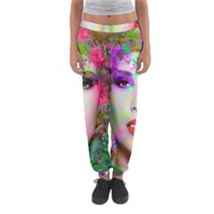 Flowers In Your Hair Women s Jogger Sweatpants