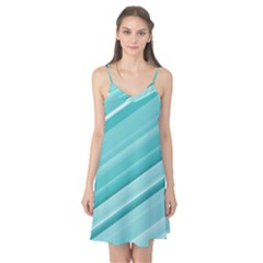 Teal And White Fun Camis Nightgown