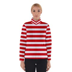 Red And White Stripes Winterwear