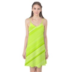 Bright Green Stripes Camis Nightgown