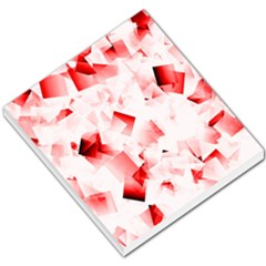 Modern Red Cubes Small Memo Pads