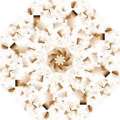 Modern Brown Cubes Folding Umbrellas