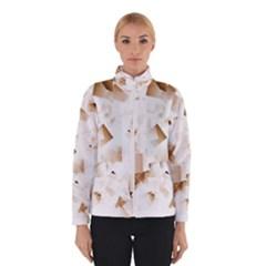 Modern Brown Cubes Winterwear