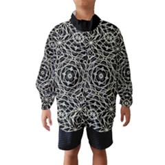 Polygons Pattern Print Wind Breaker (Kids)