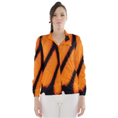 Butterfly Design 1 Wind Breaker (women)