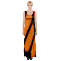 Butterfly Design 1 Maxi Thigh Split Dress