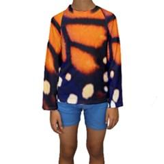 Butterfly Design 2 Kid s Long Sleeve Swimwear