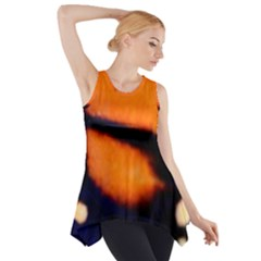Butterfly Design 2 Side Drop Tank Tunic