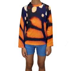Butterfly Design 3 Kid s Long Sleeve Swimwear