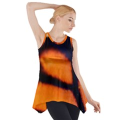 Butterfly Design 3 Side Drop Tank Tunic