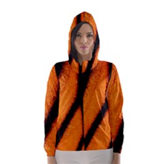 Butterfly Design 5 Hooded Wind Breaker (Women)