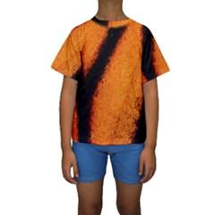 Butterfly Design 4 Kid s Short Sleeve Swimwear