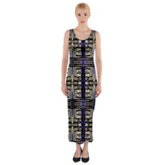 Lit0811029007  Fitted Maxi Dress