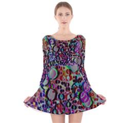 17293697725 B90b56d474 O Long Sleeve Velvet Skater Dress