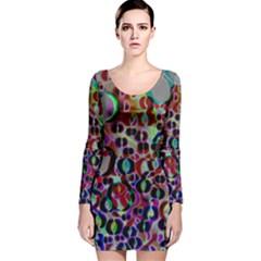 17293697725 B90b56d474 O Long Sleeve Velvet Bodycon Dress