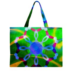 Mandala Image Large Tote Bag
