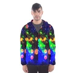 Cosmic Scenery Hooded Wind Breaker (Men)