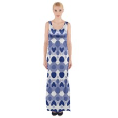 Isak Werner Maxi Thigh Split Dress