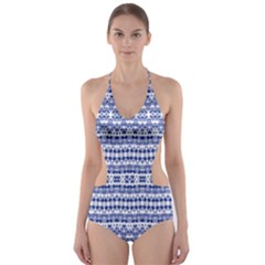 Isak Stein Cut-Out One Piece Swimsuit