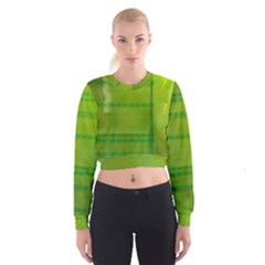 Technology Women s Cropped Sweatshirt
