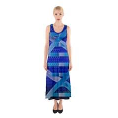 Dna Identity Full Print Maxi Dress