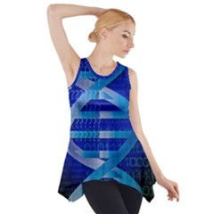 Dna Identity Side Drop Tank Tunic