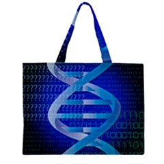 Dna Identity Large Tote Bag