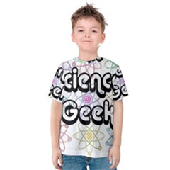 Science Geek Kid s Cotton Tee