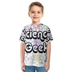 Science Geek Kid s Sport Mesh Tee