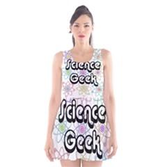 Science Geek Scoop Neck Skater Dress
