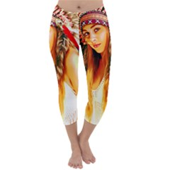 Indian 26 Capri Winter Leggings