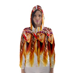 Indian 26 Hooded Wind Breaker (women)