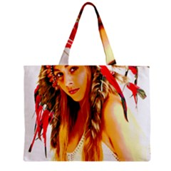 Indian 26 Zipper Mini Tote Bag