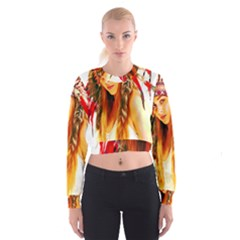 Indian 26 Women s Cropped Sweatshirt