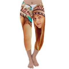 Indian 27 Capri Winter Leggings