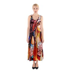 Indian 22 Full Print Maxi Dress