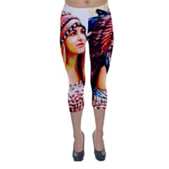 Indian 22 Capri Winter Leggings