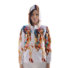 Indian 18 Hooded Wind Breaker (Women)
