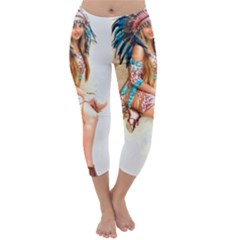 Indian 17 Capri Winter Leggings